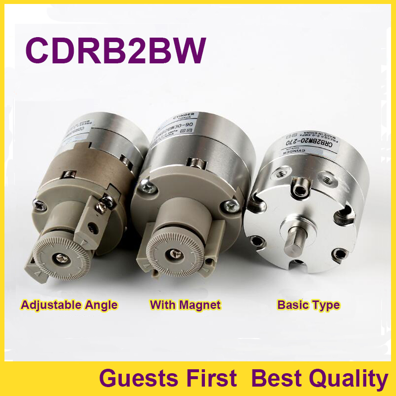 Rotary Actuator Single vane CRB2BW/CDRB2BW20-90/180/270S 90 180 270 Rotating angle Double shaft rotary air cylinder rtm20 90 rtm20 180 rtm20 270 rtm series rotary cylinders rotary hydraulic cylinders