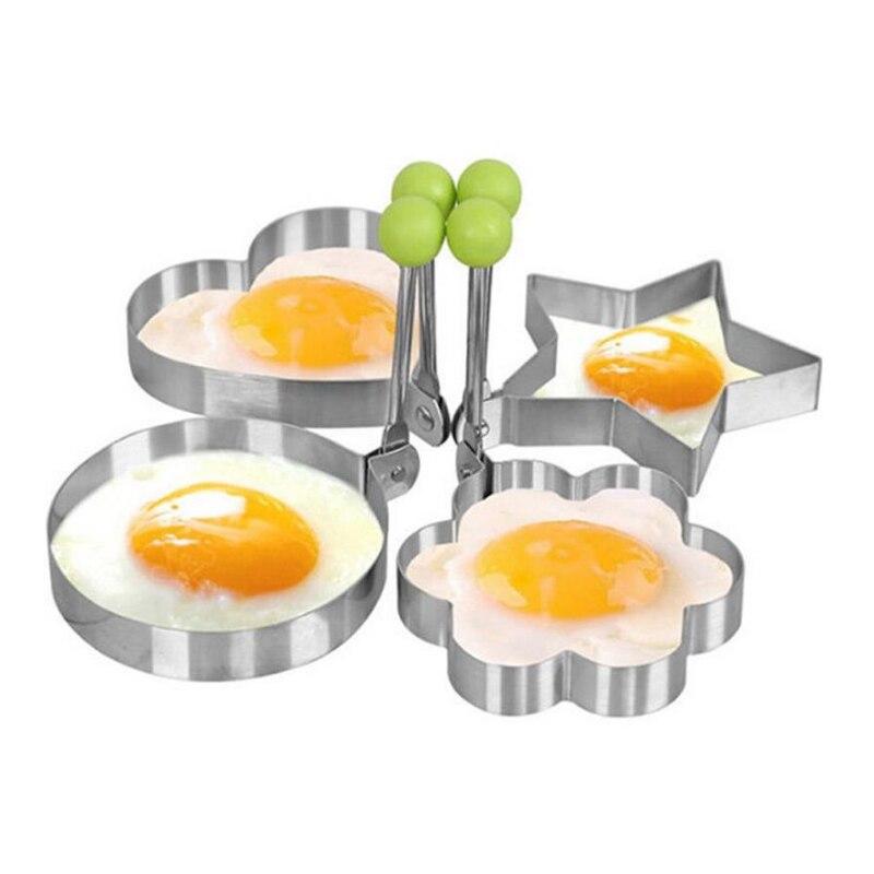 Sparsam 1 Stücke Dicker Edelstahl Form Für Braten Eier Werkzeuge Frühstück Omelett Form Gerät Pfannkuchen Ring Ei Geformt Küche Werkzeug RegelmäßIges TeegeträNk Verbessert Ihre Gesundheit