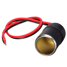 New 12/24V DC Female Car Cigar Cigarette Lighter Socket Plug