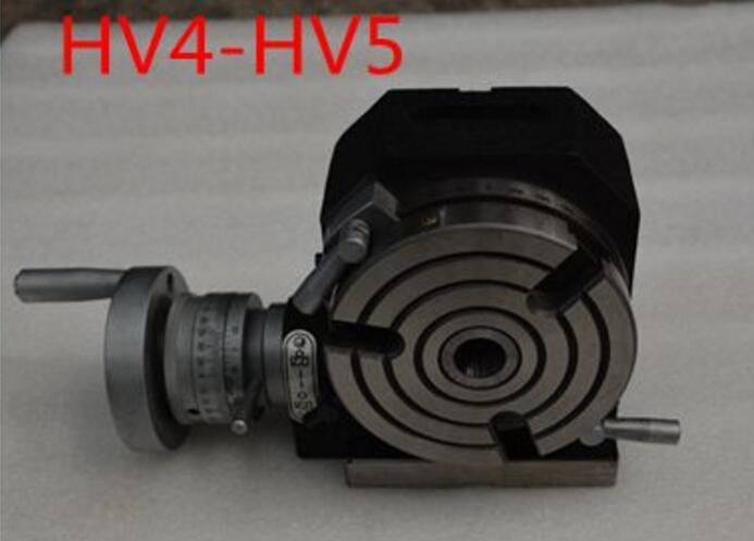HV5 durchmesser 125mm vertikale und horizontale fräsmaschine drehtisch-in Fräsmaschine aus Werkzeug bei AliExpress - 11.11_Doppel-11Tag der Singles 1