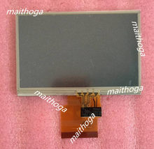 Maithoga tpo 4.3 polegada 60pin hd tft lcd tela (toque/sem toque) td043mgea1 wvga 800 (rgb) * 480