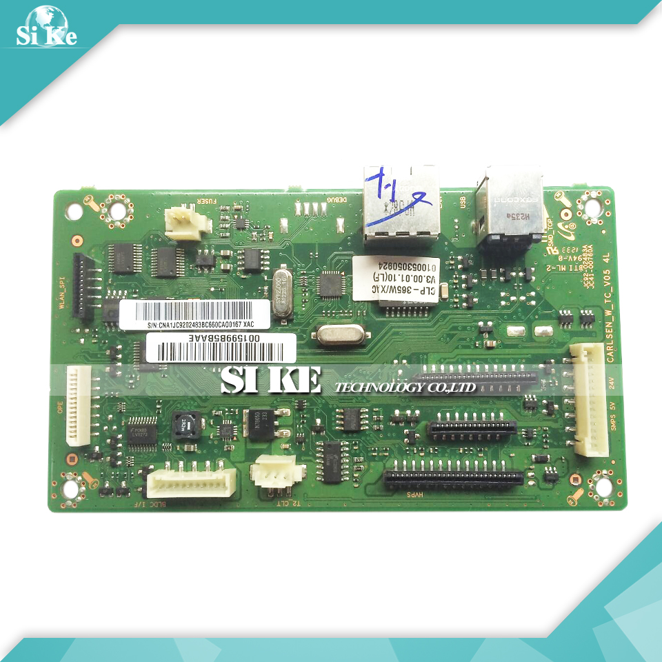 Laser Printer Main Board For Samsung CLP-365W CLP-366W CLP 365W 366W CLP365W CLP366W Formatter Board Mainboard Logic Board alzenit for samsung clp 310 clp310 clp 310 original used formatter board laser printer parts on sale