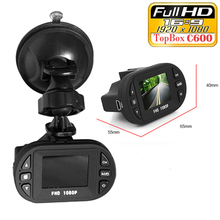 Mini Size Car Camera Full HD 1920*1080P 12 IR LED Vehicle CAM Video C600 Recorder Car DVR Dash Cam