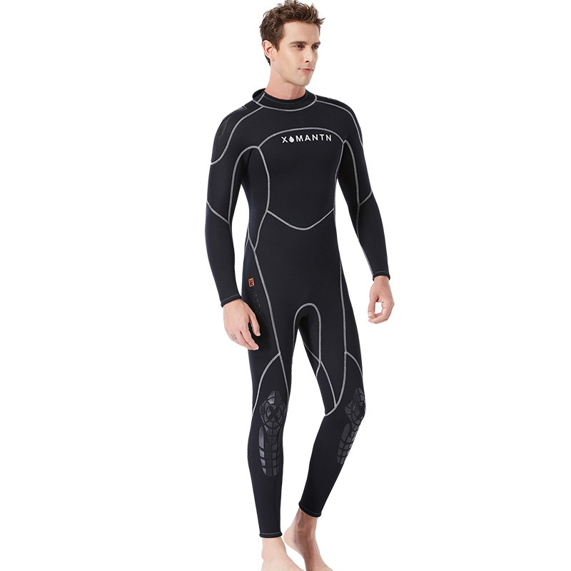 Professional 3MM Neoprene Wetsuit One-Piece Full body For Men Scuba Dive Surfing Snorkeling Spearfishing Plus SizeProfessional 3MM Neoprene Wetsuit One-Piece Full body For Men Scuba Dive Surfing Snorkeling Spearfishing Plus Size