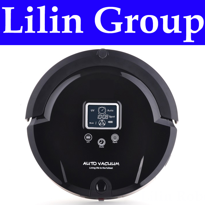 4 In 1 Multifunctional Robot Vacuum Cleaner (Sweep,Vacuum,Mop,Sterilize),LCD,Touch Button,Schedule Work,Self Charge