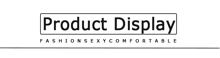 product display文字