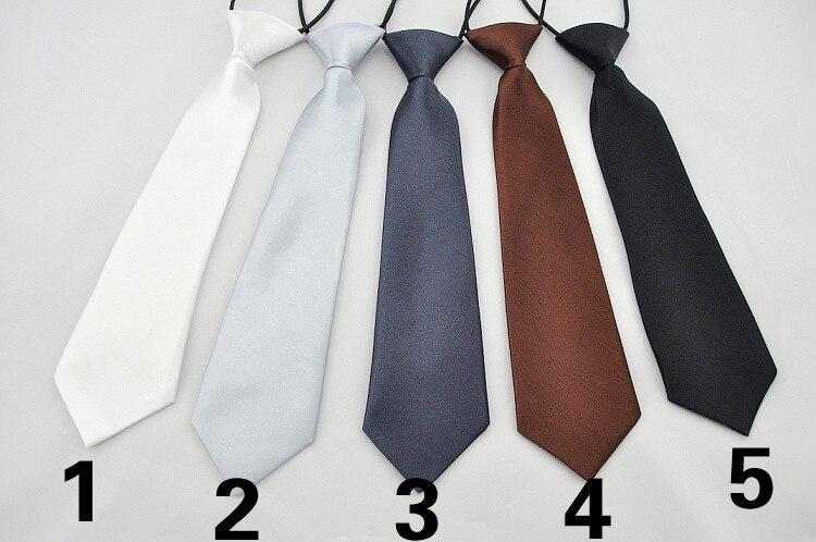 25 цветов, студенческий галстук с воротником, детский Одноцветный галстук для крутых мальчиков, для выступлений, аксессуары