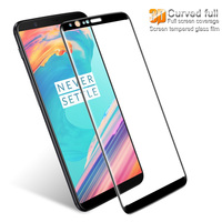 Imak Screen Protector For Oneplus 5T 3D Curved Full Cover Tempered Glass For Oneplus 5T Full