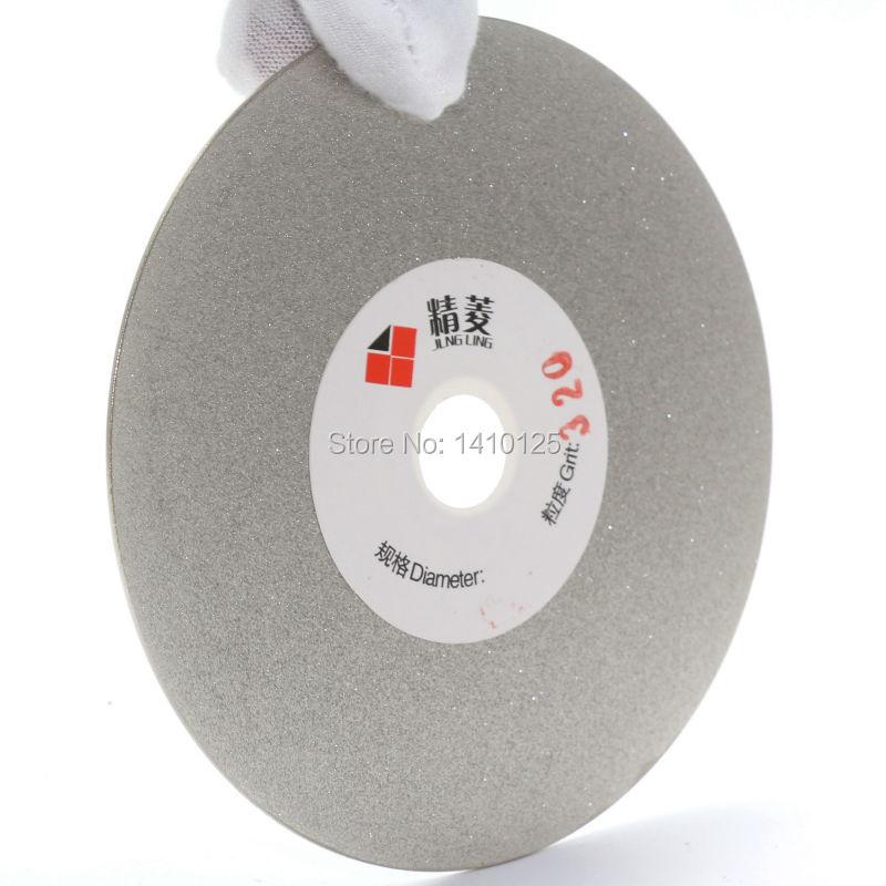 4-tolline Grit 80-3000 galvaniseeritud teemantlihvimiskettaga kaetud - Abrasiivtööriistad - Foto 4