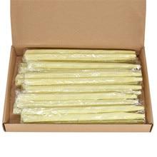 24 개/상자 귀 촛불 100% 천연 순수 에센셜 오일 꿀벌 왁스 양초 귀 청소기 왁스 제거 귀 케어 인디애나 향기