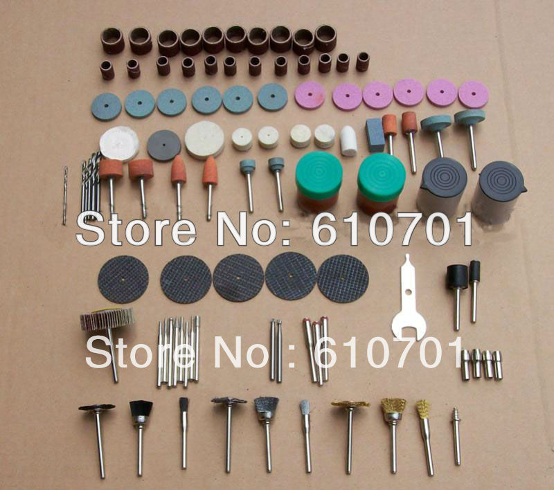 Freeshipping One Set of Electric Grinder Accessories Abrasive Polishing Cotton Wheel Grinding Head Brass Chuck Stone...
