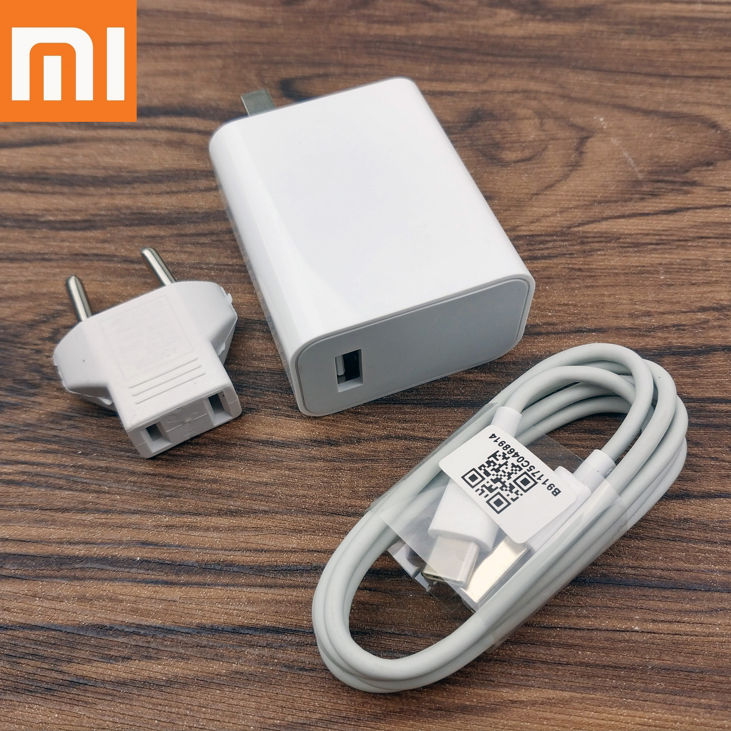 Mobile Phone Accessories Mobile Phone Chargers Original Xiaomi Mi 9 Fast Charger Qc 4.0 27w Usb Wall Quick Charge Adapter Usb 3.1 Data Cable For Mi9 Se Mi 8 7 F1 Mix 2 2s 3