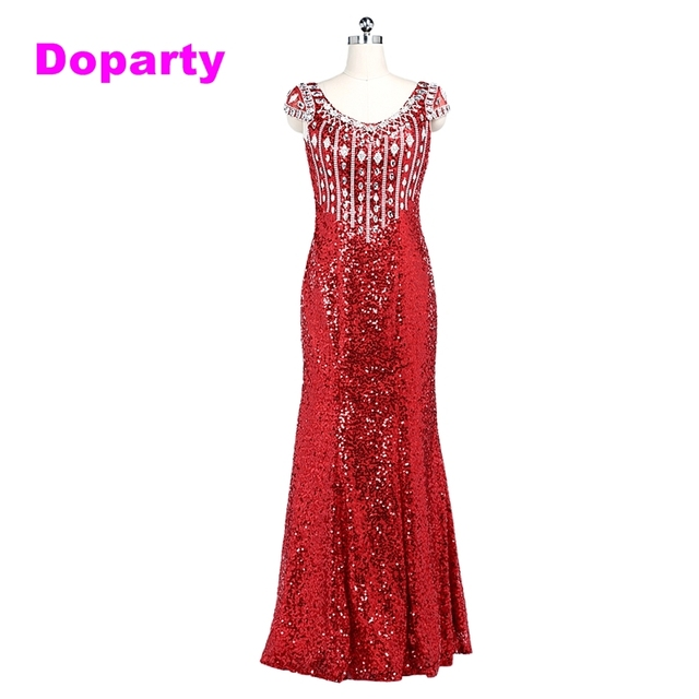 Formal Red Kaftan Mother of the Bride Long Mermaid V Neck Sleeveless ...