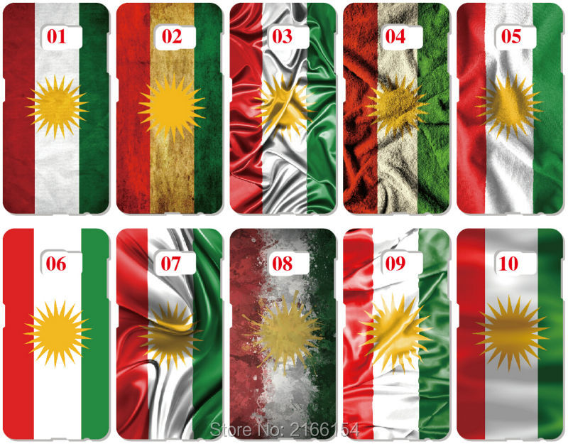 ᗚlot Kurdistan Bayragi Boyama Plastik Sert Kapak Icin Samsung