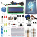 SunFounder 1602 LCD Starter Kit For Arduino UNO R3 Mega2560 Mega328 Nano With Retail Package (without Controller)