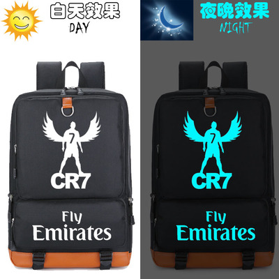 Ol Sac A Dos Cristiano Ronaldo Juventus Kids Backpack Schoolbag For Teenagers School Bags Travel Casual Laptop Bags Rucksack