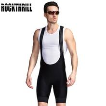 ROCKTHRILL, лайкра, велосипедные шорты, для горного велосипеда, мужские велосипедные гелевые мягкие колготки, Триатлон, мужские профессиональные велосипедные нагрудники, штаны, одежда