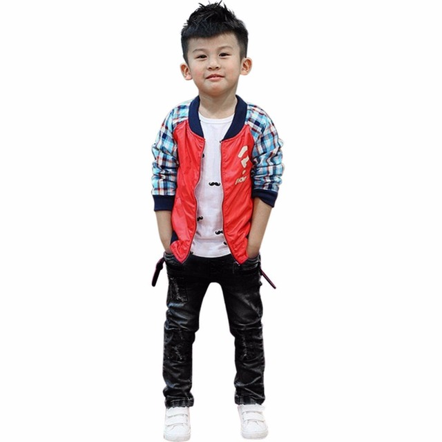 Children Baby Boy Jeans 2019 New Cool Ripped Jeans Fashion Elastic Slim Denim Long Pants Black Kids Casual Skinny Jeans for 1-6Y