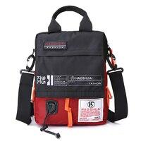 Men High Quality Waterproof Nylon Shoulder Messenger Bags Mountaineering Bag Crossbody Handle Students Bag Briefcase XA99WC