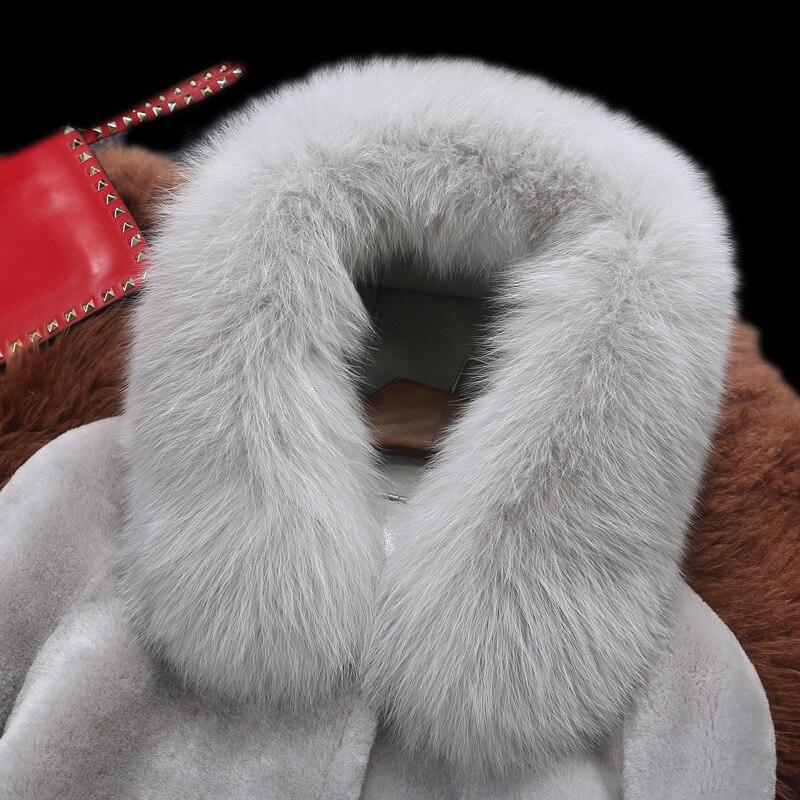 Gray Épais Chaud Manteaux En Fausse D'hiver De Fourrure Long Outwear À Automne red Manteau Parc Rh130 Femmes Capuchon Taille Grande vRwU7PWqq