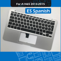 A1465 Top Case ES Spanish Layout 069 9392 B for Macbook Air 11 A1465 Palmrest Topcase with Spain Keyboard 2013 2014 2015