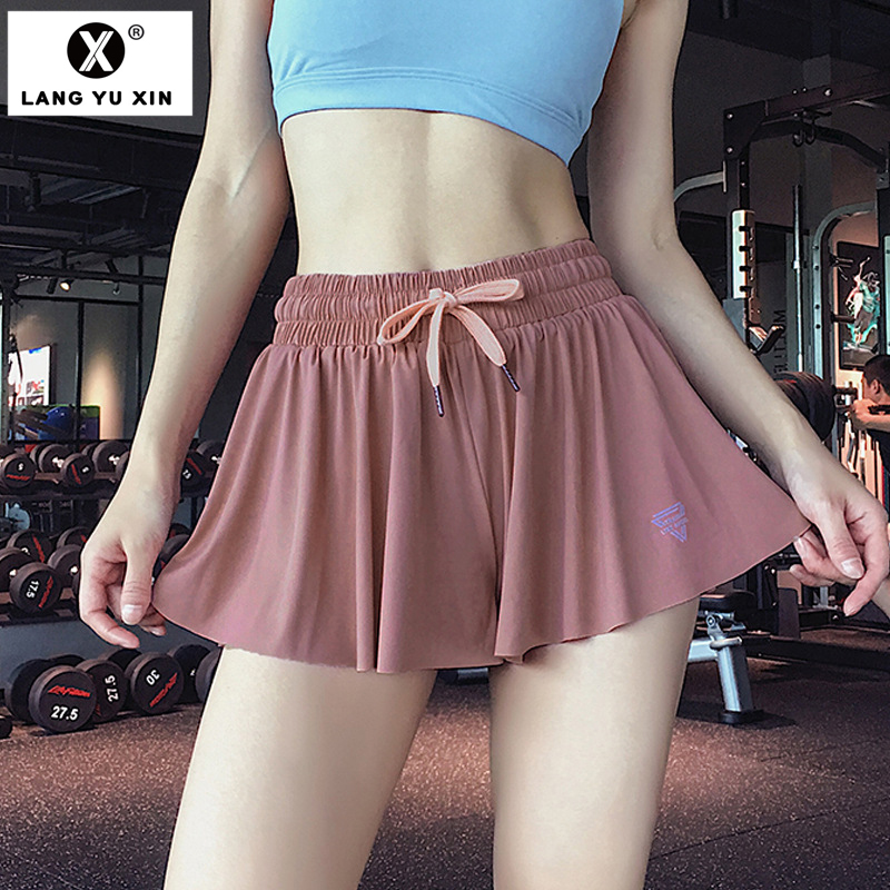 Women's Sport Athletic Yoga Active Skirted Shorts Skorts Capris Pleated Tennis Golf Skirt Built-in Shorts Workout Clothes