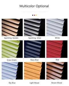 Image 5 - Persianas venecianas de tamaño personalizado, persiana enrollable de aluminio grueso, resistente al agua, color blanco, gris, plateado y dorado, persiana enrollable para ventana, 25MM