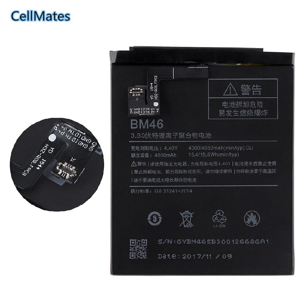 Neuf de Haute Qualité Batterie BM46 Pour Xiaomi Redmi Note 3 III Note3 4050 mAh Mobile Téléphone portable Batterie Rechargeable Dans stock