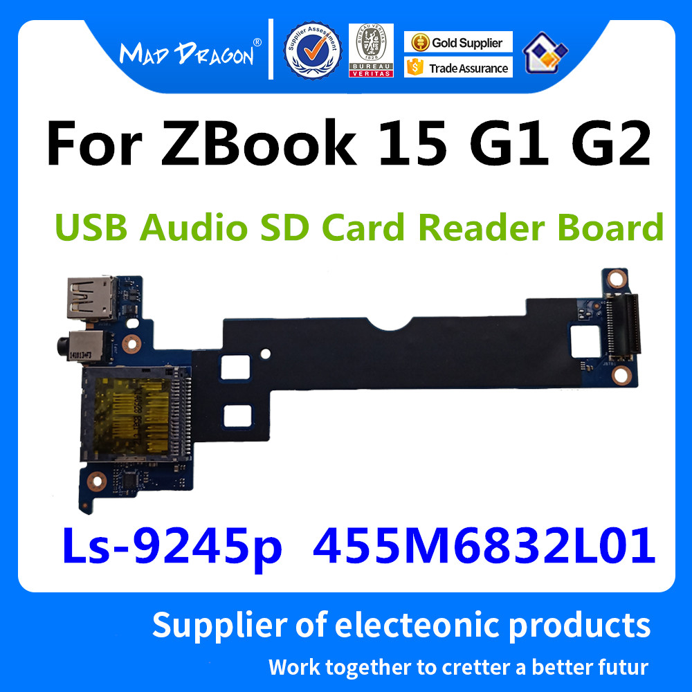 new for HP ZBook 15 USB and audio board LS-9245P