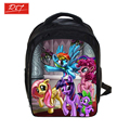 Anime mi pequeño Pony Mochila para las niñas niños mochilas diarias estudiantes bolsas escolares Mochila niños bolso de la historieta Mochila