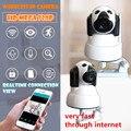 HD 720 P Sem Fio PT IP Wifi Câmera CMOS Night Vision alarme de Detecção de Movimento Home Security Onvif H264 IR Secuirty MSD cartão