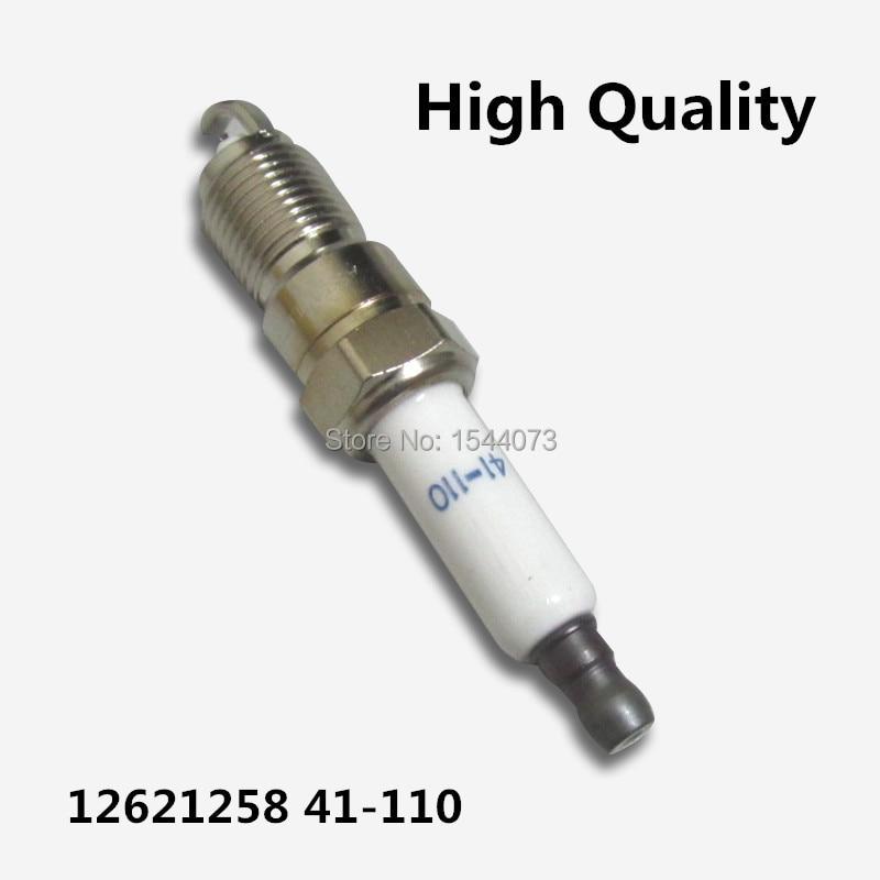 8Pcs 12621258 41-110 IRIDIUM POWER Spark Plug For Buick LaCrosse Cadillac Escalade For Chevrolet Caprice GMC Envoy Savana Yukon