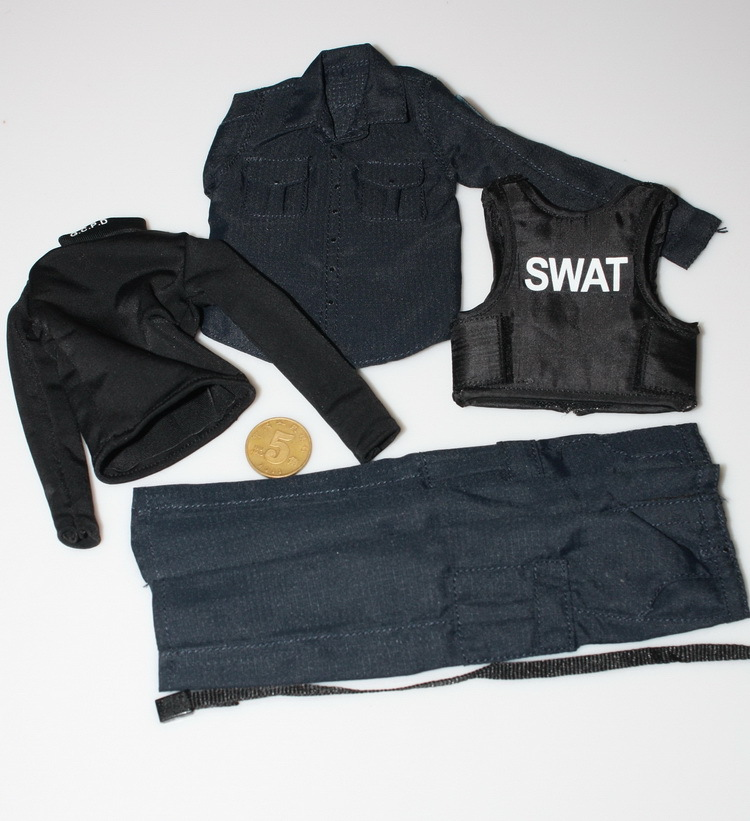 1/6 scale figure doll clothes male SWAT suit for 12 Action figure doll accessories not include doll,shoes and other No1612 1 6 scale figure doll clothes male suit for 12 action figure doll accessories not include doll and other accessories no2185