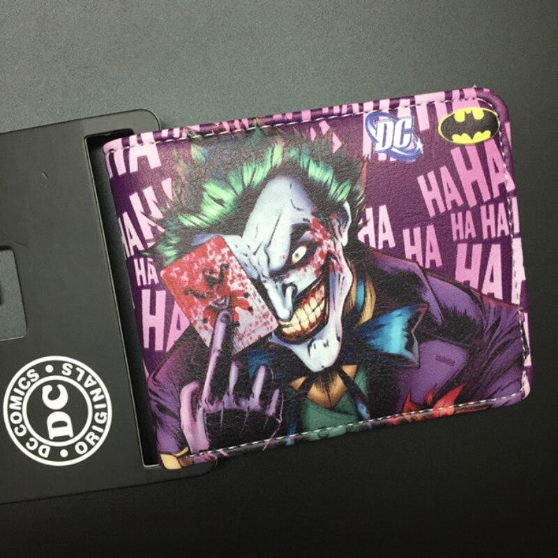 Trasporto Libero Comics Dc Marvel The Joker di Batman Vampire Logo Borsa Carta di Credito Titolare Del Fumetto PortafogliTrasporto Libero Comics Dc Marvel The Joker di Batman Vampire Logo Borsa Carta di Credito Titolare Del Fumetto Portafogli