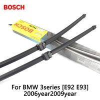 2pcs Lot Bosch Car AEROTWIN Wipers Windshield Wiper Blades Dedicated Wipers For BMW 3series E92 E93
