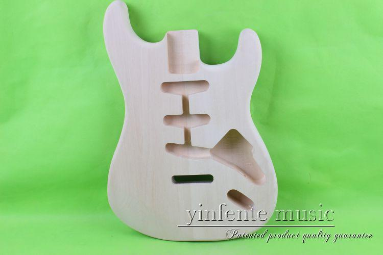 one 005# unfinished  electric guitar body  mahogany made one 21 unfinished electric guitar body mahogany made