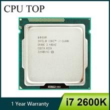Intel Core i7 2600K 3.4GHz SR00C Quad Core LGA 1155 מעבד מעבד
