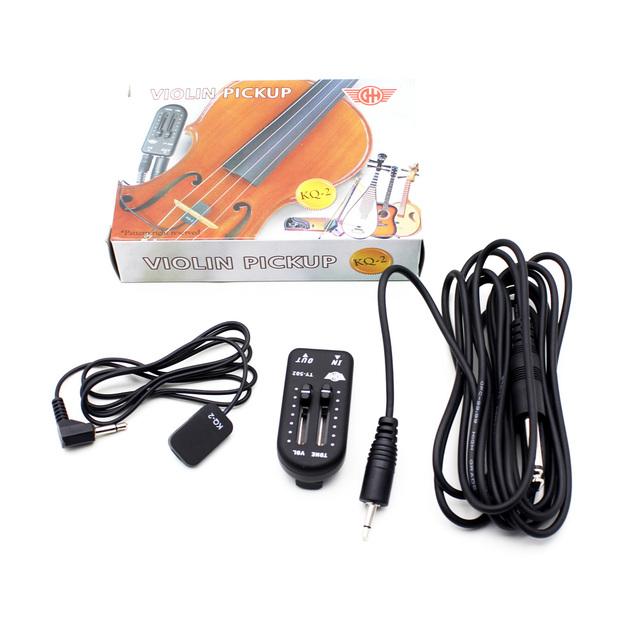 Ukulele Pickup Transducer with Audio Cable