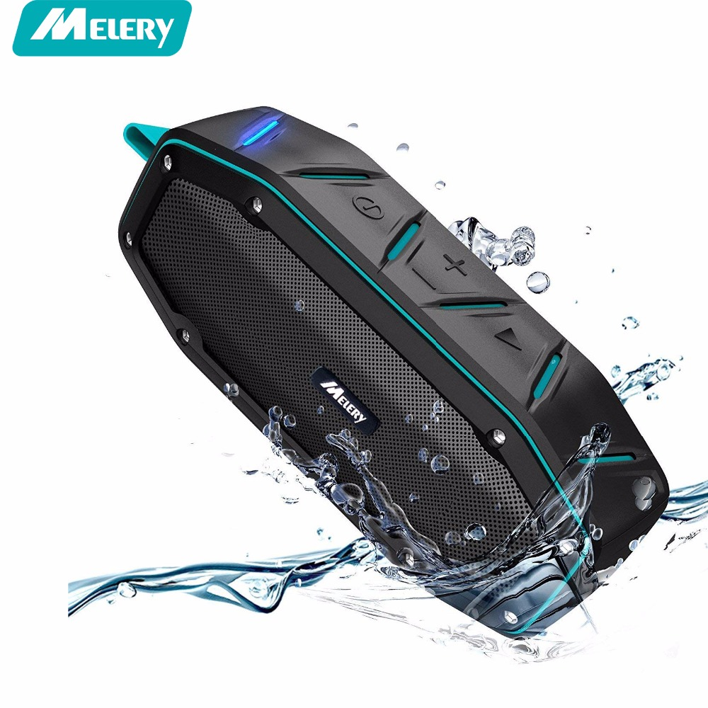 лучшая цена Melery Bluetooth Speaker Waterproof Portable Speaker Sound Box Music Column Wireless loudspeaker Subwoofer HD Bass Stereo