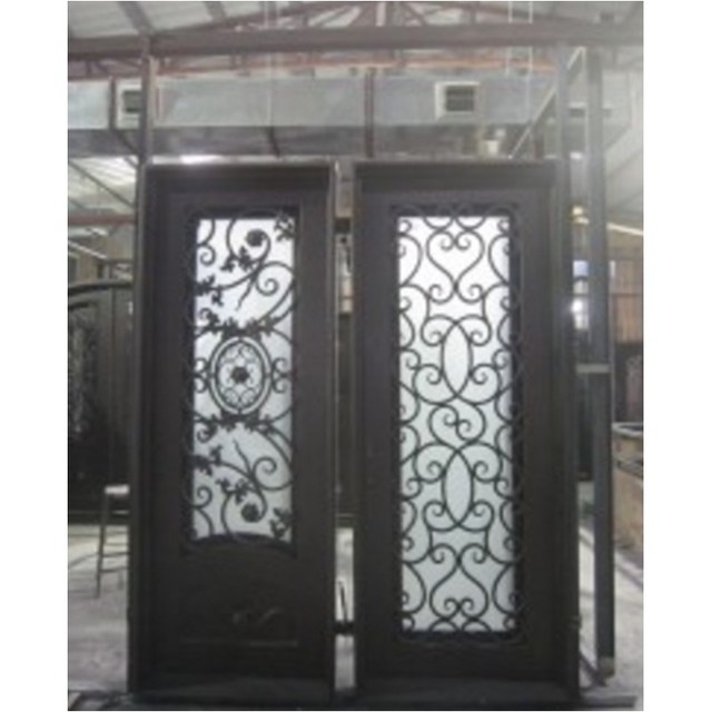 Puertas de hierro para jardin fotos de distintos modelos - Puertas de hierro para jardin ...