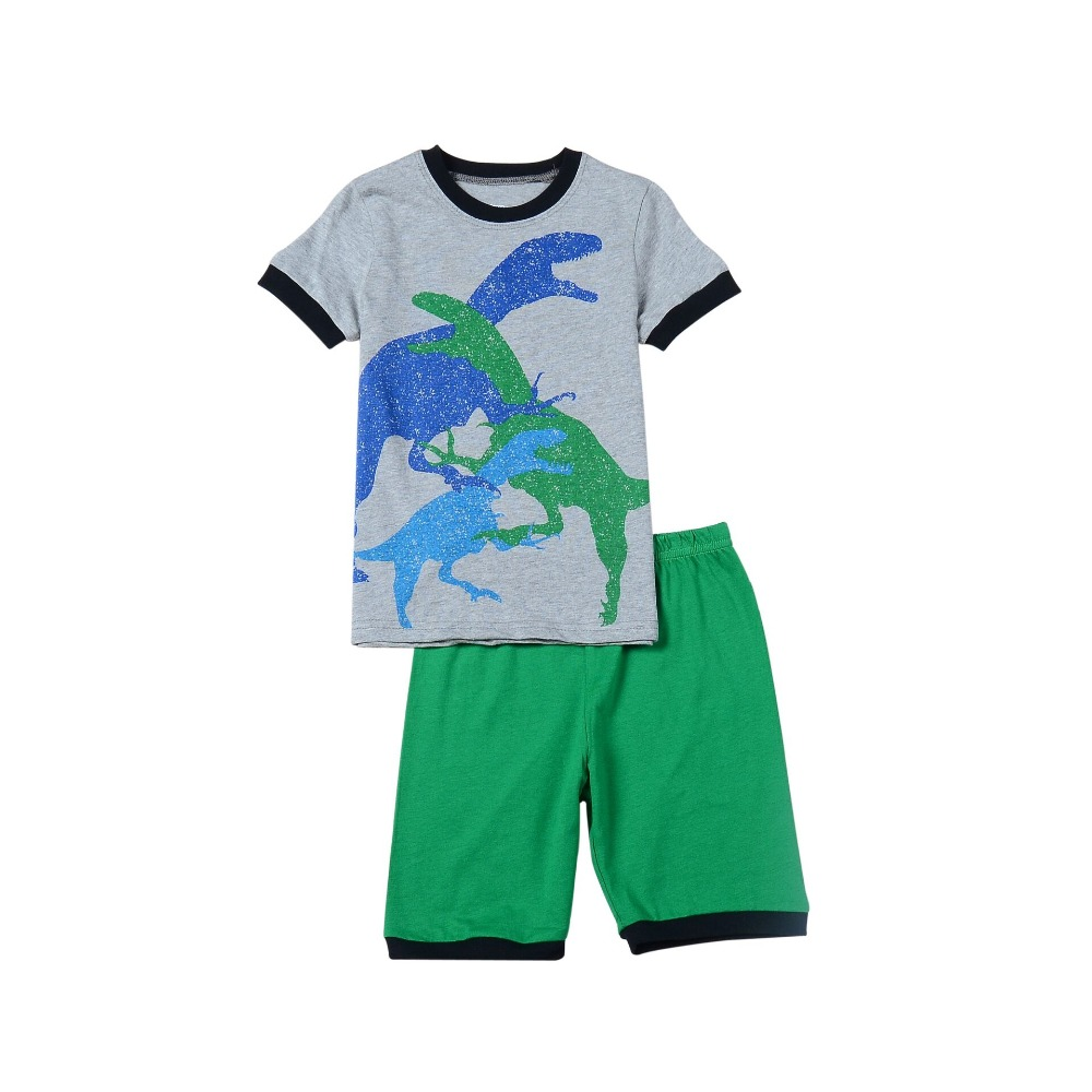 popular boys dinosaur pajamas buy cheap boys dinosaur pajamas lots fashion new boys dinosaur pajamas kids animal printed pyjamas for 2 7ages children clothing sets