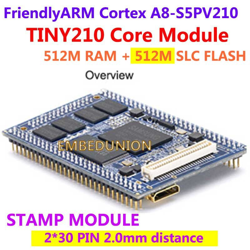 FriendlyELEC S5PV210 Cortex A8,TINY210 Core Module Stamp,512M RAM+512M Flash, Development Board Android4.0
