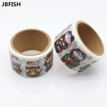 JBFISH Daily life Cute cat paper washi tape set Decorative adhesive tape masking tapes 30mm*5m Scrapbooking School supplie 9003
