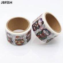 Купить онлайн Jbfish повседневной жизни милый Кот бумаги васи набор клейкой ленты декоративные маскировки 30 мм * 5 м Скрапбукинг школа Supplie 9003