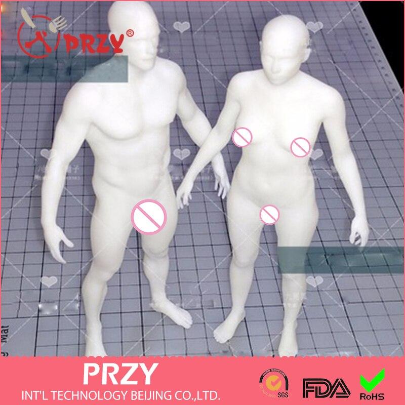 2017 PRZY силиконовая форма Эксклюзивная Мужская и женская форма для тела человеческая глина силиконовая форма Ruantao Ароматические каменные фор