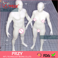 2017 PRZY Silicone MOULD Exclusive men and women body mold human clay mold silicone mold Ruantao aroma stone molds