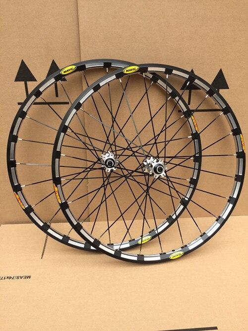 Цена за 26 дюймов 27.5 дюймов 29 дюймов 24 Отверстия Горный Велосипед дисковый Тормоз Колеса 6 Отверстия Велосипед 19 мм Двойное Уплотнение Оси Колеса Колесной Пары