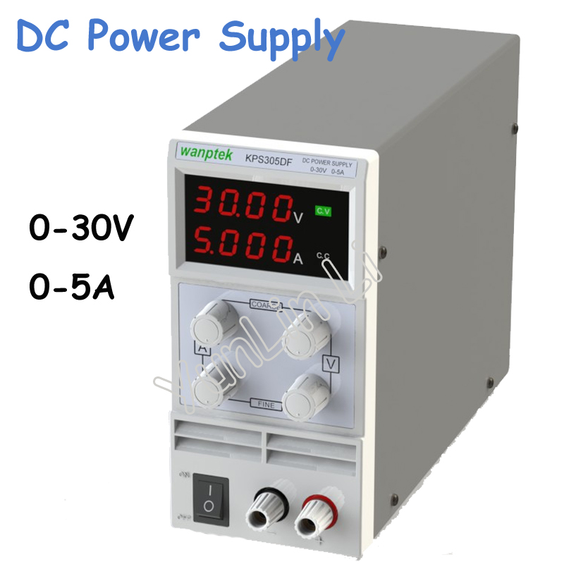 0-30V/0-5A LED Digital Adjustable Switch DC Power Supply mA Display KPS305DF 30v 5a dc regulated power high precision adjustable supply switch power supply maintenance protection function kps305df