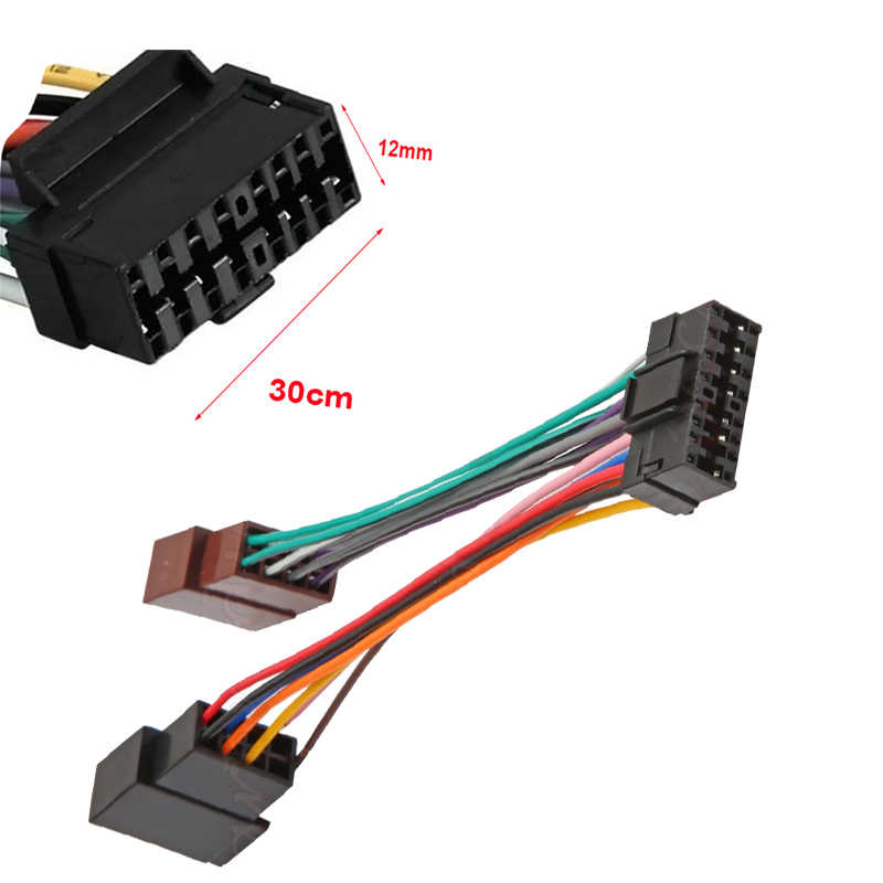 sony xplod wiring harness 16 pin lowrance wiring harness amp detail feedback questions about new 16 pin iso wiring harness on lowrance wiring