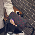 2016 Fashion new brand women Leather wristlet handbags lady coin Purse/wallets/Card & ID Holders phone Minaudiere Day Clutches